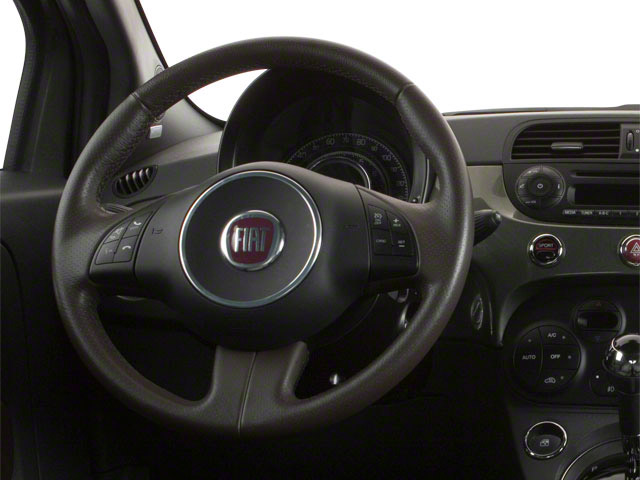 2012 FIAT 500 Prices and Values Hatchback 3D Lounge driver's dashboard