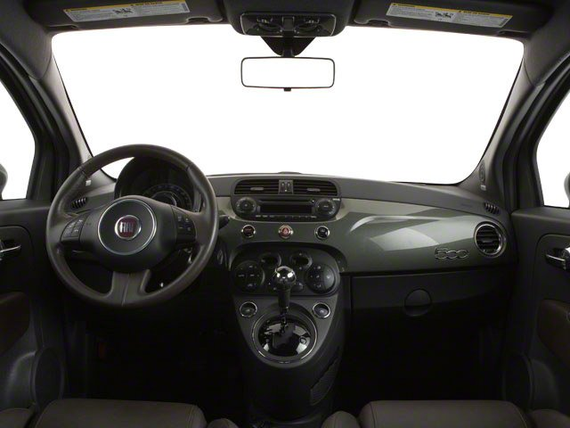 2012 FIAT 500 Prices and Values Hatchback 3D Lounge full dashboard