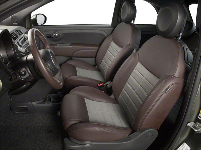 2012 FIAT 500 Prices and Values Hatchback 3D Lounge front seat interior