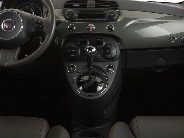 2012 FIAT 500 Prices and Values Hatchback 3D Lounge center console