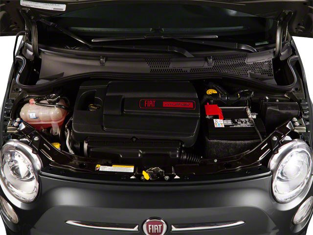 2012 FIAT 500 Prices and Values Hatchback 3D Lounge engine