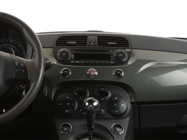 2012 FIAT 500 Prices and Values Hatchback 3D Lounge center dashboard