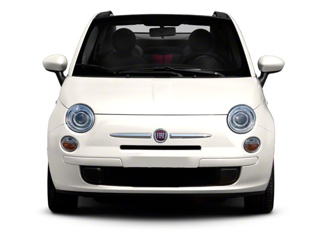 2012 FIAT 500 Pictures 500 Convertible 2D Lounge photos front view