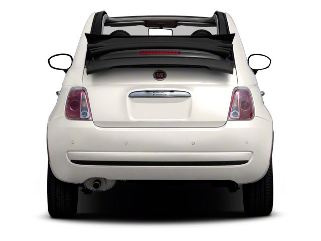 2012 FIAT 500 Prices and Values Convertible 2D Lounge rear view
