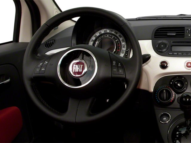 2012 FIAT 500 Pictures 500 Convertible 2D Lounge photos driver's dashboard
