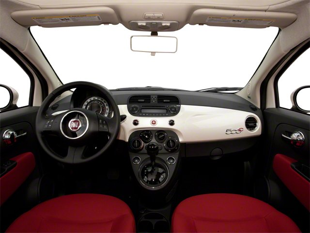 2012 FIAT 500 Pictures 500 Convertible 2D Lounge photos full dashboard
