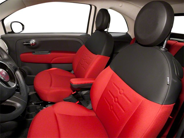 2012 FIAT 500 Pictures 500 Convertible 2D Lounge photos front seat interior