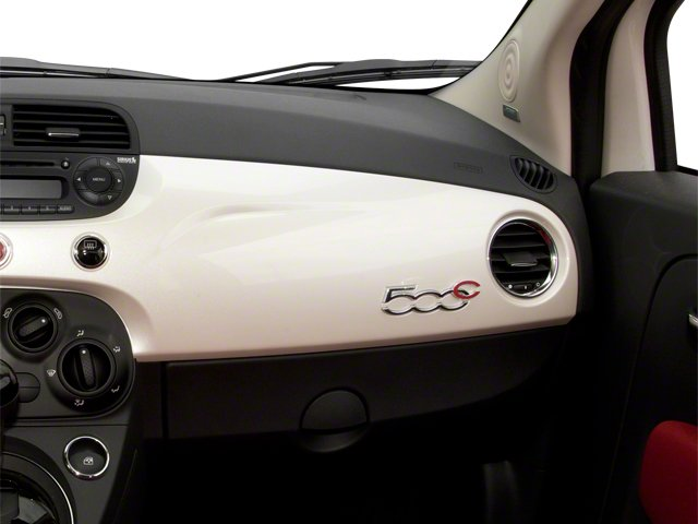 2012 FIAT 500 Prices and Values Convertible 2D Lounge passenger's dashboard