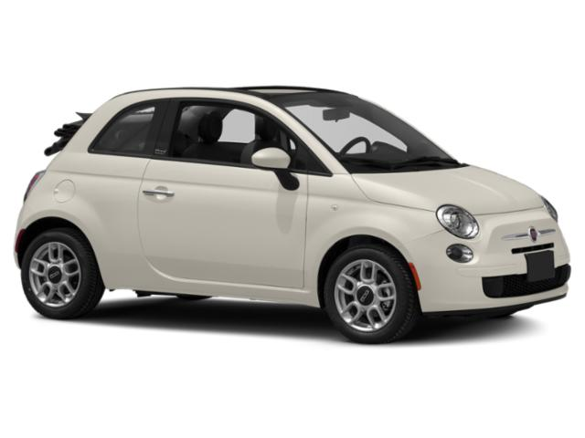 2012 FIAT 500 Prices and Values Convertible 2D Lounge side front view