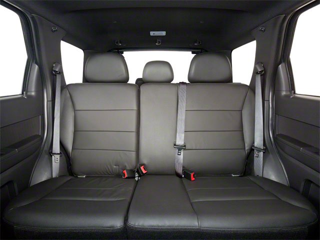 2012 Ford Escape Prices and Values Utility 4D XLS 2WD (4 Cyl) backseat interior