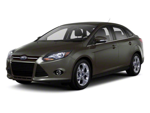 2012 Ford Focus Prices and Values Sedan 4D S side front view