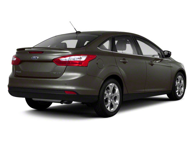 2012 Ford Focus Prices and Values Sedan 4D S side rear view