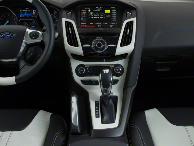 2012 Ford Focus Prices and Values Sedan 4D S center console