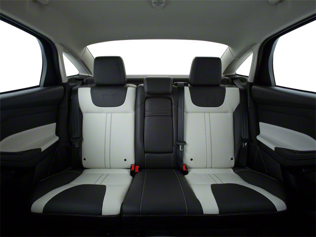 2012 Ford Focus Prices and Values Sedan 4D S backseat interior