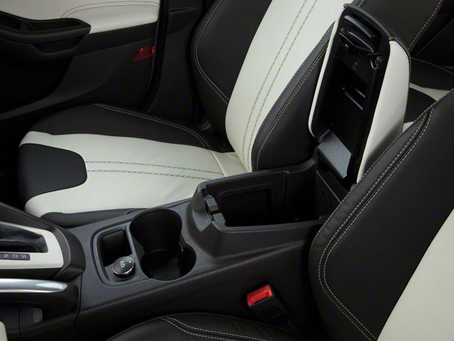 2012 Ford Focus Prices and Values Sedan 4D S center storage console