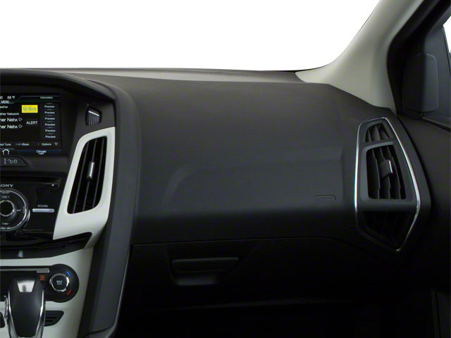2012 Ford Focus Prices and Values Sedan 4D S passenger's dashboard