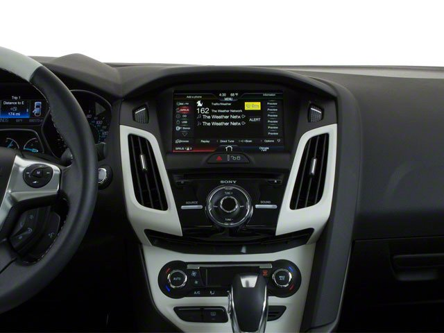 2012 Ford Focus Prices and Values Sedan 4D S center dashboard