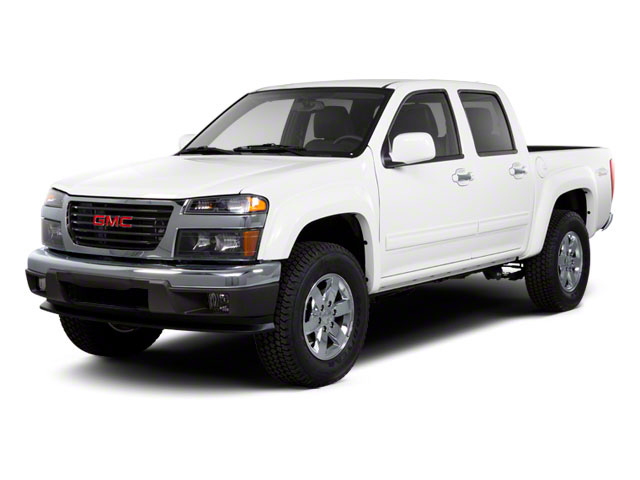 2012 GMC Canyon Prices and Values Crew Cab SLE side front view