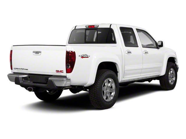 2012 GMC Canyon Prices and Values Crew Cab SLE side rear view