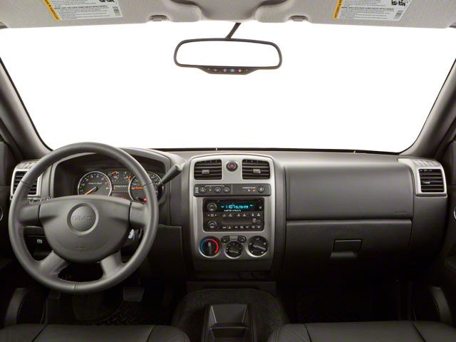 2012 GMC Canyon Prices and Values Crew Cab SLE full dashboard