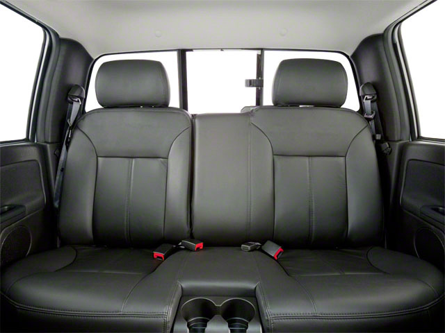 2012 GMC Canyon Prices and Values Crew Cab SLE backseat interior