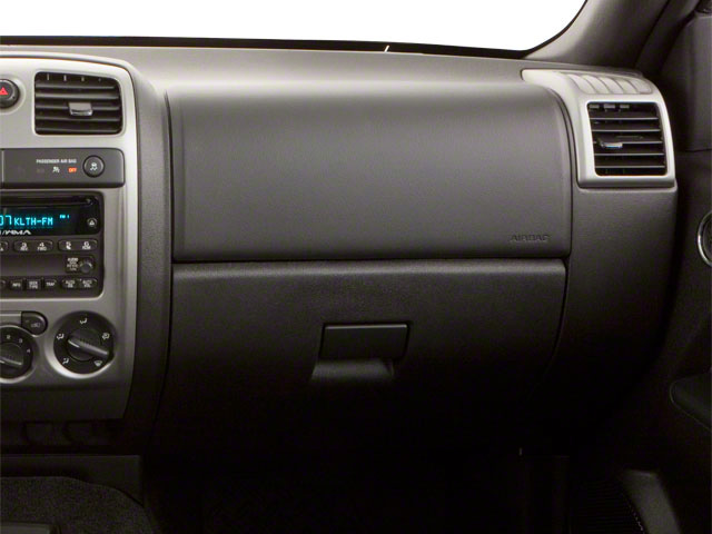 2012 GMC Canyon Prices and Values Crew Cab SLE passenger's dashboard