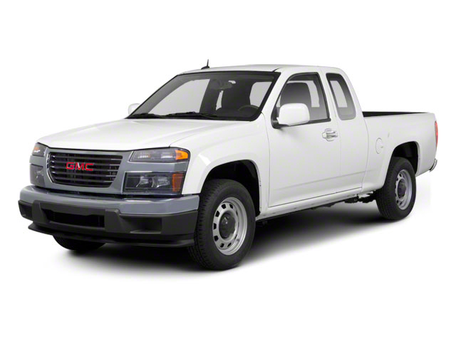 2012 GMC Canyon Pictures Canyon Extended Cab SLE photos side front view