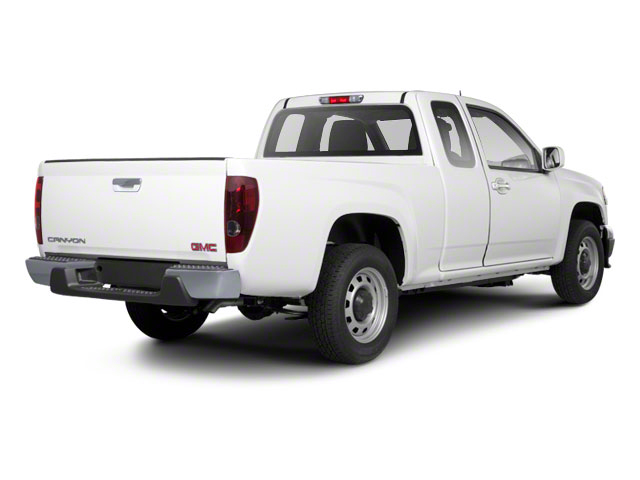 2012 GMC Canyon Pictures Canyon Extended Cab SLE photos side rear view