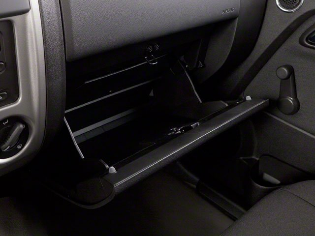 2012 GMC Canyon Pictures Canyon Extended Cab SLE photos glove box