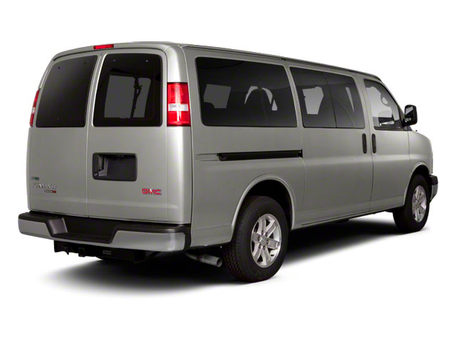 2012 GMC Savana Passenger Prices and Values Savana LT 135  side rear view