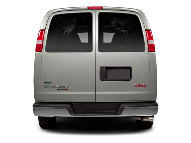 2012 GMC Savana Passenger Prices and Values Savana LT 135  rear view
