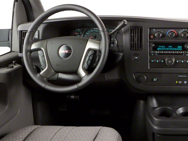 2012 GMC Savana Passenger Prices and Values Savana LT 135  driver's dashboard