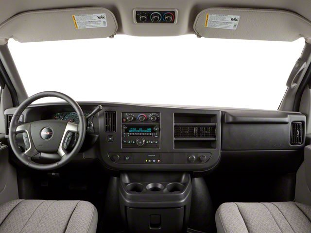 2012 GMC Savana Passenger Prices and Values Savana LT 135  full dashboard
