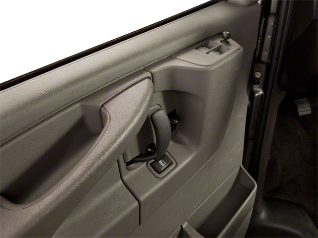 2012 GMC Savana Passenger Prices and Values Savana LT 135  driver's door