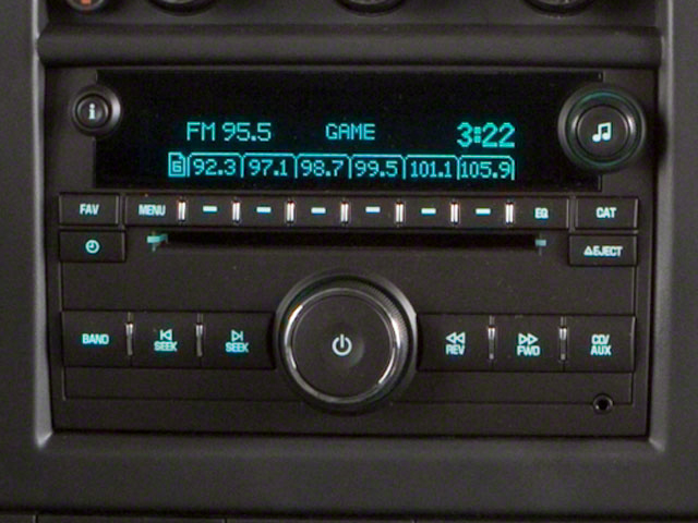 2012 GMC Savana Passenger Prices and Values Savana LT 135  stereo system