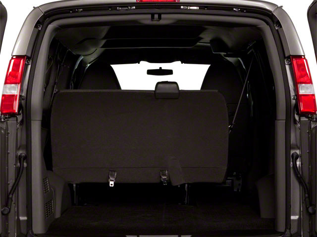 2012 GMC Savana Passenger Prices and Values Savana LT 135  open trunk