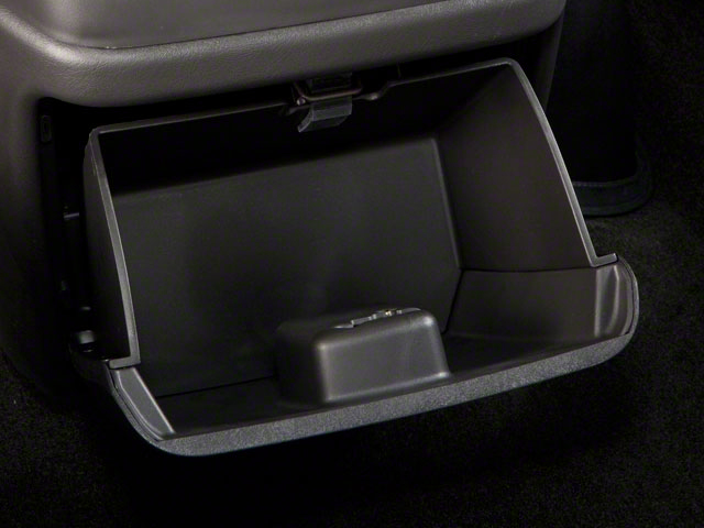 2012 GMC Savana Passenger Prices and Values Savana LT 135  glove box