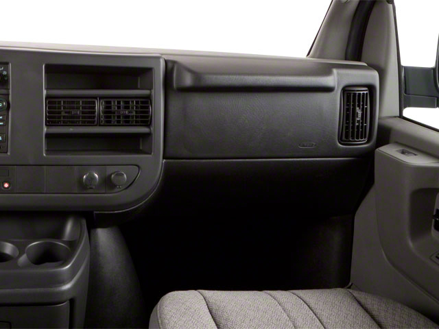 2012 GMC Savana Passenger Prices and Values Savana LT 135  passenger's dashboard