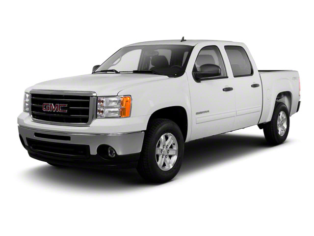 2012 GMC Sierra 1500 Prices and Values Crew Cab Work Truck 2WD side front view