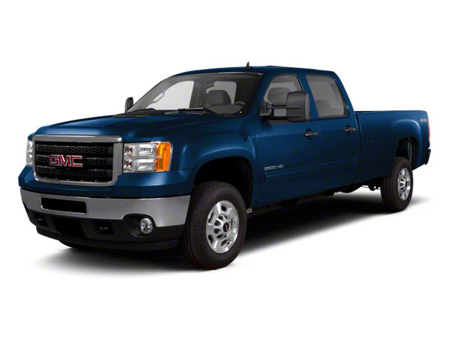 2012 GMC Sierra 2500HD Pictures Sierra 2500HD Crew Cab SLT 2WD photos side front view