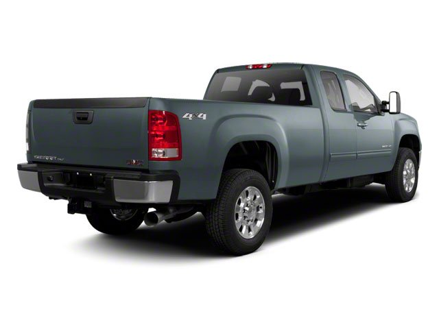 2012 GMC Sierra 2500HD Prices and Values Extended Cab SLE 4WD side rear view