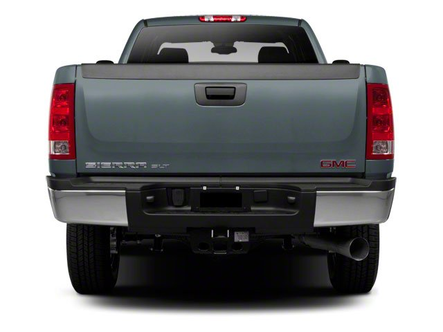 2012 GMC Sierra 2500HD Prices and Values Extended Cab SLE 4WD rear view