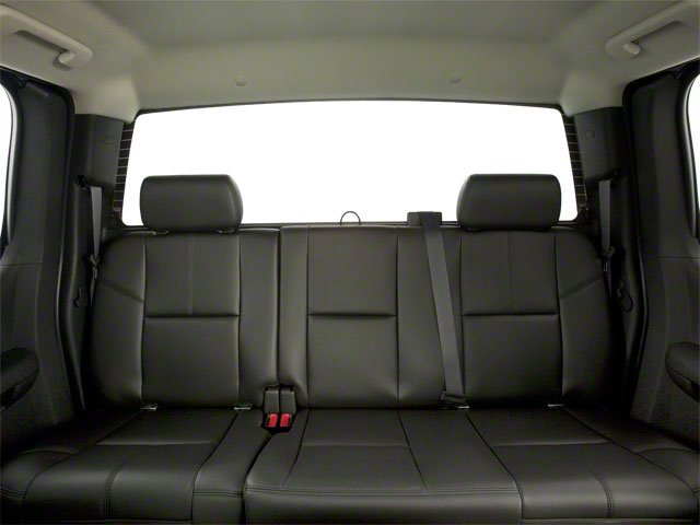 2012 GMC Sierra 2500HD Prices and Values Extended Cab SLE 4WD backseat interior