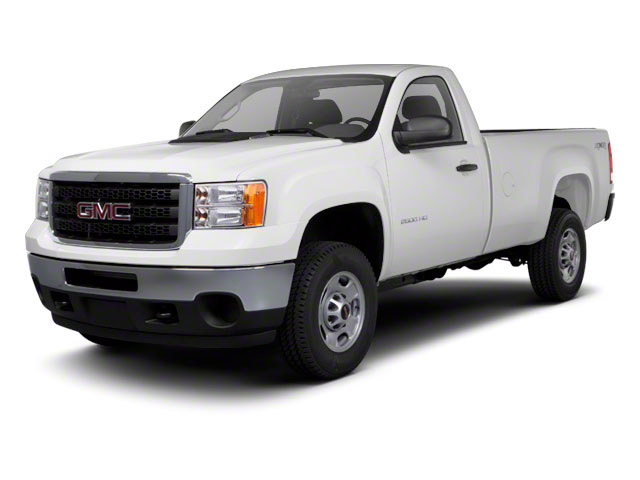 2012 GMC Sierra 2500HD Pictures Sierra 2500HD Regular Cab SLE 2WD photos side front view