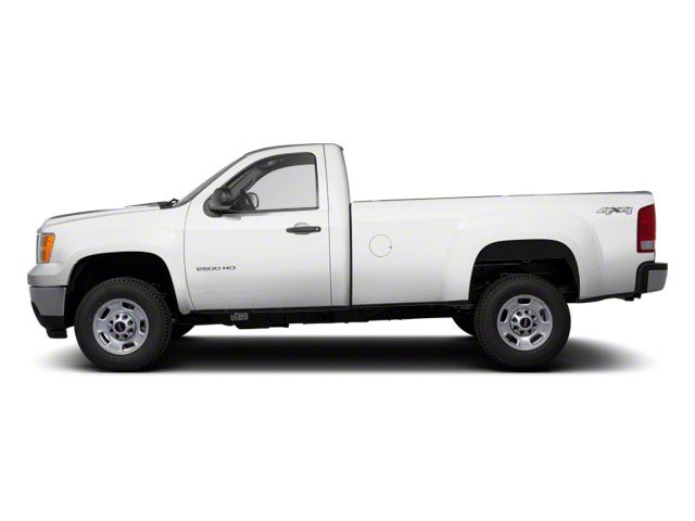 2012 GMC Sierra 2500HD Pictures Sierra 2500HD Regular Cab SLE 2WD photos side view