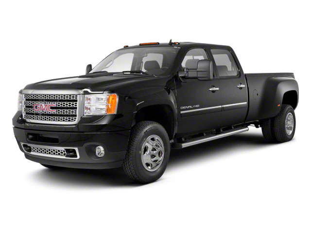 2012 GMC Sierra 3500HD Prices and Values Crew Cab SLT 4WD side front view