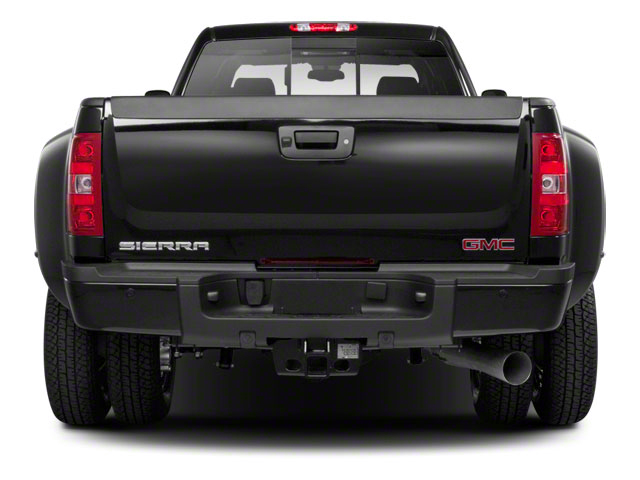 2012 GMC Sierra 3500HD Prices and Values Crew Cab SLT 4WD rear view