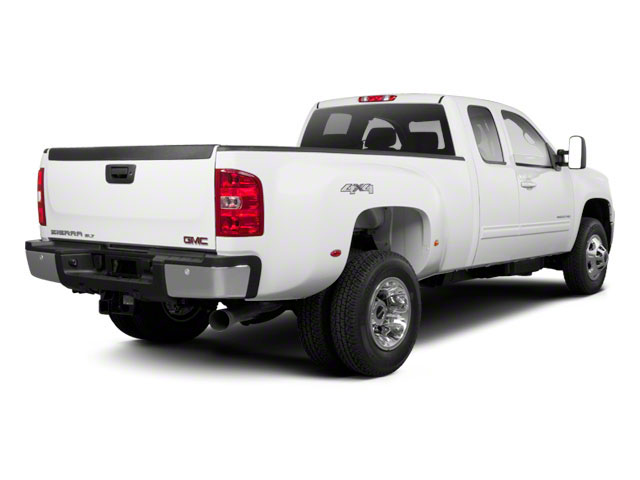 2012 GMC Sierra 3500HD Prices and Values Extended Cab SLE 4WD side rear view