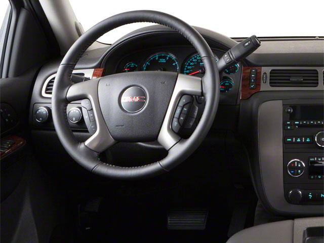 2012 GMC Sierra 3500HD Prices and Values Extended Cab SLE 4WD driver's dashboard