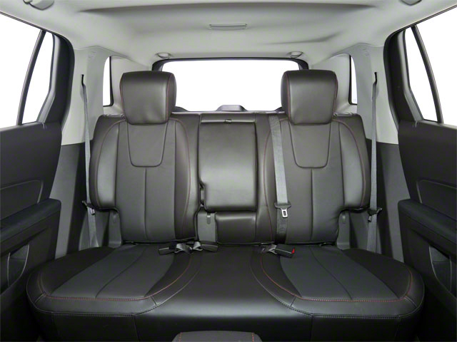 2012 GMC Terrain Prices and Values Utility 4D SLE 2WD backseat interior